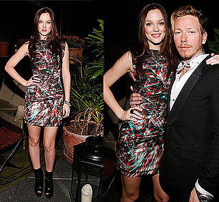 "Leighton Meester Wears Colorful Marios Schwab Dress at Swarovski ""You Know You Want It: Style-Inspiration-Confidence"" in NYC 2009-11-06 11:00:22"