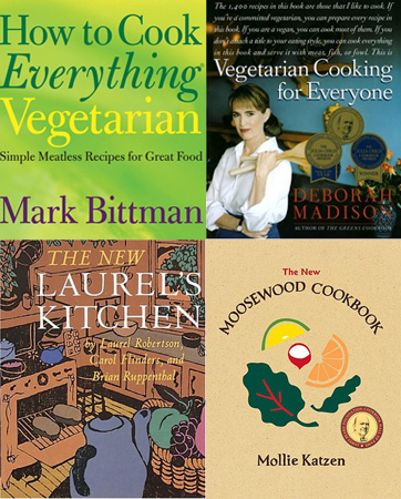 The Best Vegetarian Cookbooks