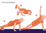 Push-Up to Tee Stand