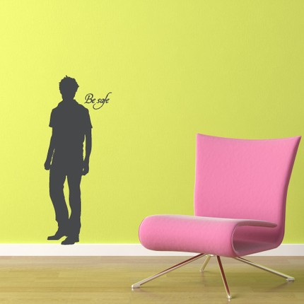 Add a shadow of Edward to your wall with this Wall Decal ($25).