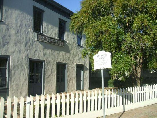 The Robert Louis Stevenson House in Monterey