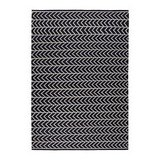 Ikea's Jorun Flatweave Rug ($179) features a cool chevron design that reminds me of Lonni's wall pattern on Design Star.