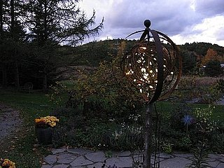 Cool Idea:  Lighting the Dark Garden