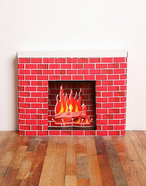 Love It or Hate It? Cardboard Fireplace