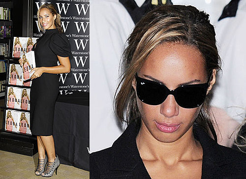 Photos of Leona Lewis After Being Punched at Book Signing