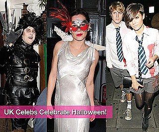 Slideshow of Photos of British Celebs Celebrating Halloween in London