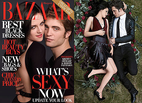 Gallery of Hot Photos of Robert Pattinson and Kristen Stewart Looking Sexy In Harper's Bazaar , Plus Interview Extracts & Video
