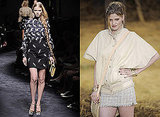 Photos of Lara Stone on the Spring 2010 Catwalk in Paris, Milan and London