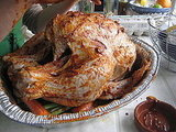 Apple Brined, Bourbon Glazed, Spice Rubbed Thanksgiving Turkey Recipe 2009-11-18 17:07:22