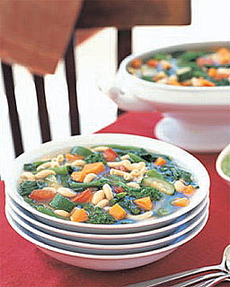 Easy and Fast Minestrone Soup Recipe