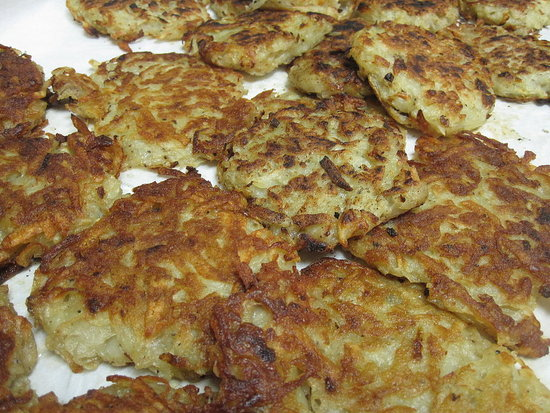 Michael Symon's Potato Pancakes