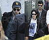 Slide Photo of Robert Pattinson, Taylor Lautner and Kristen Stewart at LAX