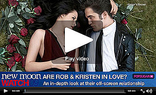 Robert Pattinson and Kristen Stewart — Are They or Aren't They?