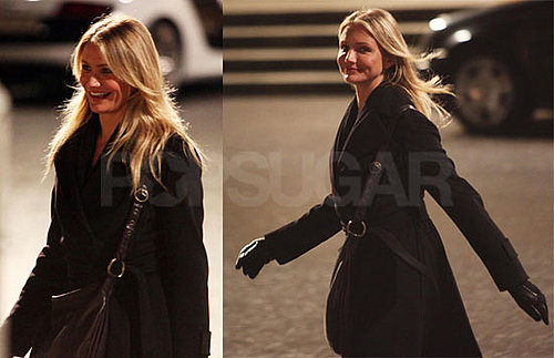 Photos of Cameron Diaz Shooting a Scene For Knight and Day in Austria
