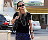 Slide Photo of Reese Witherspoon Going to Breakfast In LA