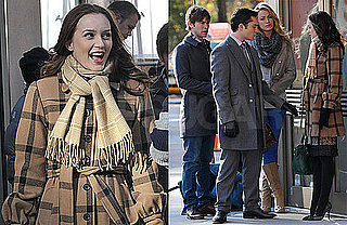 Photos of Blake Lively, Leighton Meester, Chace Crawford, Ed Westwick on The Set of Gossip Girl in NYC