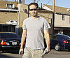 Slide Photo of David Duchovny Doing Errands in LA