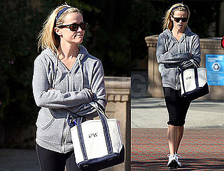 Photos of Reese Witherspoon Leaving the Gym After Her Morning Workout in LA