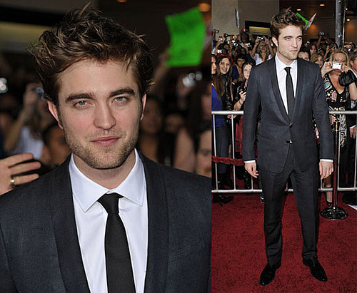 Photos of Robert Pattinson at The LA Premiere of New Moon