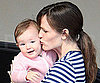 Slide Photo of Jennifer Garner and Seraphina Affleck in Santa Monica