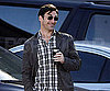 Slide Photo of Jon Hamm Smiling in LA