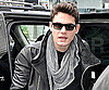 Slide Photo of John Mayer Arriving in Toronto to Promote Battle Studies