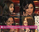 Suri and Katie's Adorable Expressive Weekend!