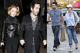 Photos of Katherine Heigl and Josh Kelley Leaving a Restaurant in LA on Her Birthday