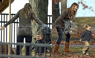 Photos of Gisele Bundchen in Boston With Stepson Jack Moynahan