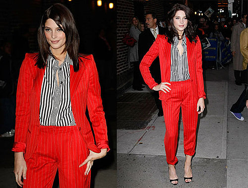 Photos of Ashley Greene at The Late Show