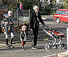 Photo Slide of Gwen Stefani, Gavin Rossdale, Zuma Rossdale, Kingston Rossdale in London
