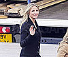 Slide Photo of Cameron Diaz in Spain on Set of Knight and Day