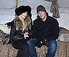 Slide Photo of Paris Hilton and Doug Reinhardt in Whistler