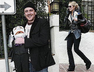 Photos of Lindsay Lohan Leaving Jason Segel's House