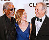 Slide Photo of Hilary Swank with Clint Eastwood and Morgan Freeman at Salute to Clint
