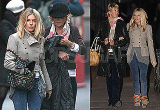 Photos of Sienna Miller Walking in NYC