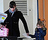 Slide Photo of Jennifer Garner Picking Violet Up From School