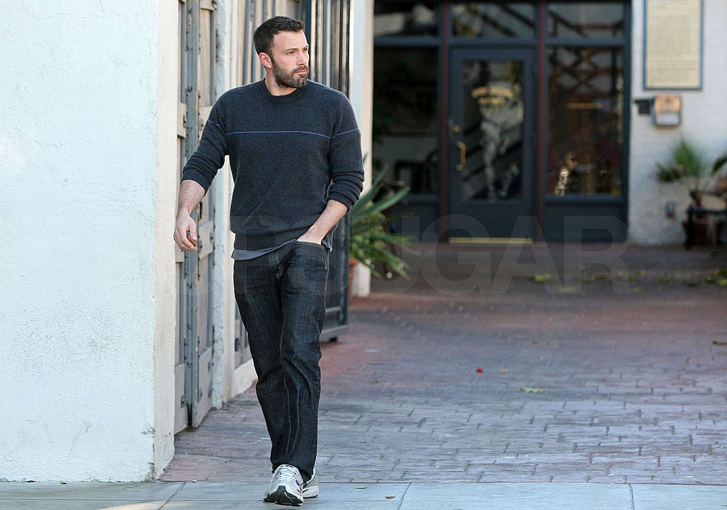 Photos of Ben Affleck With a Beard in LA
