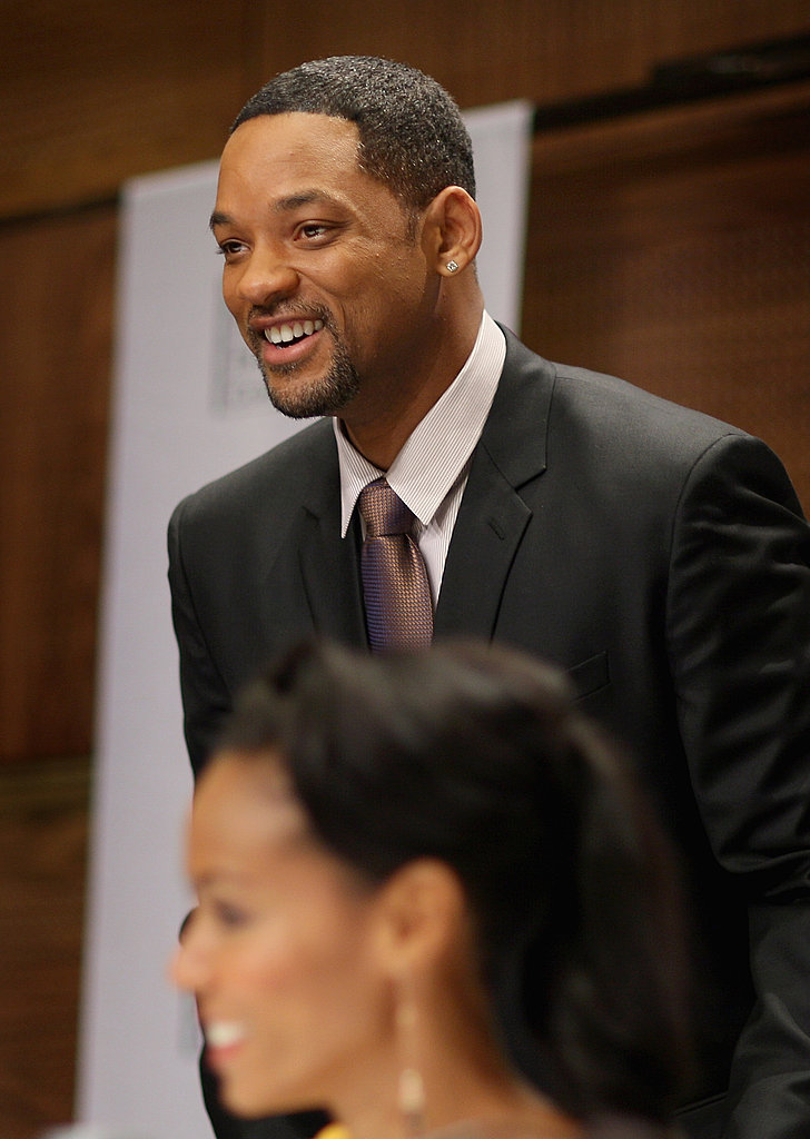 Photos of Will and Jada At the Nobel Peace Prize Concert Press Conference