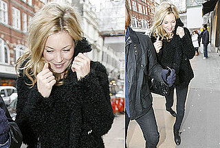 Photos of Kate Moss Shopping at Longchamp in London