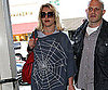 Slide Photo of Britney Spears Wearing Spiderweb Sweater in LA