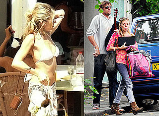 Photos of Sienna Miller With New Boyfriend George Barker, aka DJ Slinky Wizard, in London