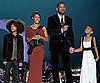 Slide Photo of Will, Jaden, Jada and Willow Smith at Nobel Peace Prize Concert in Norway