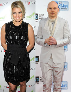 Jessica Simpson Linked to Billy Corgan — Too Bizarre or Strangely Perfect?