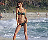 Slide Photo of Alessandra Ambrosio in Miami in bikini