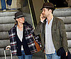 Slide Photo of Diane Kruger and Joshua Jackson at LAX