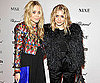 Slide Photo of Mary Kate and Ashley Olsen at Nine Premiere in NYC