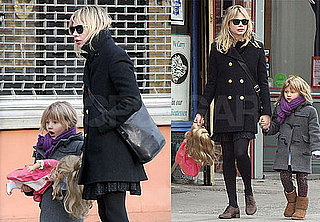 Photos of Michelle Williams and Matilda Ledger Taking a Walk in Brooklyn With Her Doll