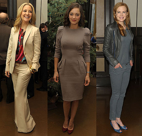 Photos of Kate Hudson, Marion Cotillard and Nicole Kidman At Nine Luncheon in NYC