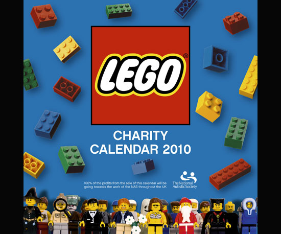 Get Your Fill of Legos All Year With the 2010 Calendar!